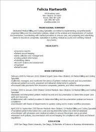 Medical Coder Resume Amazing Download Medical Coding Resume WritingLettersnet