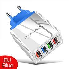 <b>LEEHUR 5V 3A Fast</b> Charging 4 Ports USB Charger Quick Charge ...