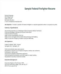 Firefighter Resume Templates Best Firefighter Resume Templates Firefighter Paramedic Resume Objective