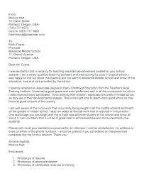 Primary Teacher Cover Letter Sample Cover Letter For Assistant Teacher Primary Teacher Cover