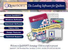 QuiltSOFT: Quilt Design Software and Quilt Fabrics & QuiltSOFT is a software program which lets you design complete quilts on  your personal computer. It will create your templates, custom blocks, ... Adamdwight.com