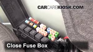 interior fuse box location 2002 2005 ford thunderbird 2002 ford interior fuse box location 2002 2005 ford thunderbird 2002 ford thunderbird 3 9l v8