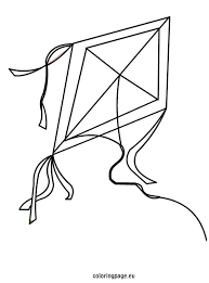Small Picture Kite coloring page Summer Pinterest Kites Patterns and