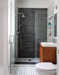 Modern bathroom shower ideas Small Bathrooms Choose Grey Tile Wall And Glass Door For Modern Bathroom Shower Ideas In Small Room Area Midcityeast Modern Concept Of Bathroom Shower Ideas And Tips On Choosing Shower