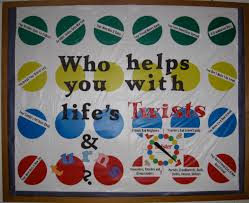 the corner on character lifes twists and turns bulletin board bulletin board ideas
