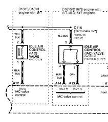 iacv harness 2 wire motor 3 hondacivicforum com obd2a