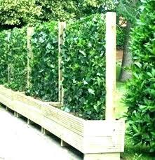 free standing garden privacy screens uk outdoor planters patio pop neon accents for rooms lattice screen