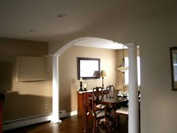 how to build a dining room arch intended for arch ideas for home 10591