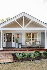Beach house with fixer upper style  Beach Bungalow ExteriorBungalow Porch Cottage ...