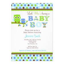 Owl Mustache Baby Shower Invitation  Boy Little Man HootOwl Baby Shower Invitations For Boy