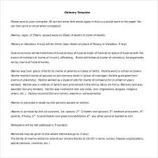 10 Microsoft Word Obituary Templates Free Download Free Premium