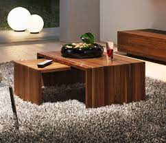 luxury contemporary wood coffee tables