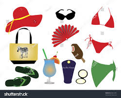 Just For The Beach Suit Things Beach Stock Vector 36012091 Shutterstock