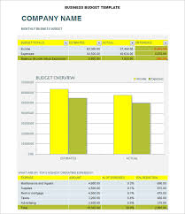 excel business budget template business budget template 3 free word excel documents download