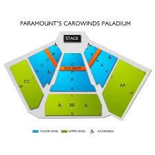 Carowinds Paladium 2019 Seating Chart