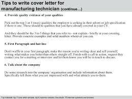 Technician Resume Cover Letter Cocinacolibri Com
