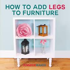 diy ikea furniture. How To Add Legs IKEA Furniture | Diy Home Decor Ikea Kallax Shelving  Unit