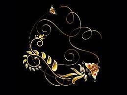 hd wallpaper gold graphic design frame