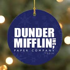 Image Funny Nbc Store The Office Dunder Mifflin Ornament