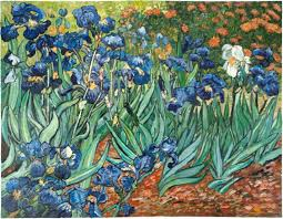van gogh irises painting van gogh s irises the emotional content from within van gogh studio