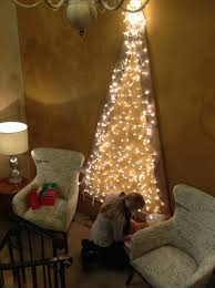 Wall Christmas Trees Create A Wall Mounted Christmas Tree Create The Look