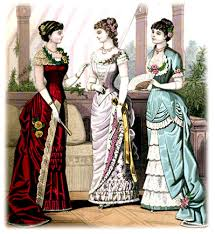 Image result for 1880 gown