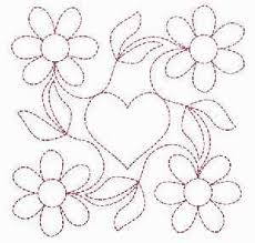 106 best Blocos com flores images on Pinterest | Crafts, Applique ... & free machine quilting stencils - Bing Images. Hand Embroidery Patterns ... Adamdwight.com