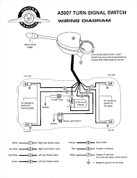 turn signal flasher wiring diagram volovets info 5 Terminal Flasher Wiring-Diagram turn signal switch with 12v flasher vintage auto garage at wiring within diagram