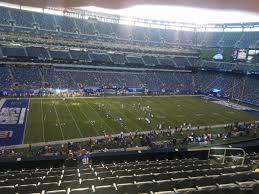Giants Stadium Football Seating Chart Metlife Stadium Section 217 Giants Jets Rateyourseats Com