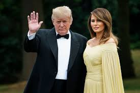 Melania Trump Yellow Dress Designer Melania Trumps Yellow Caped Gown Draws Comparisons To A