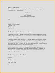 Free Resume Cover Letter New 20 New Free Examples Cover Letters