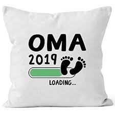 Moonworks Kissen Bezug Oma 2019 Loading Geschenk Kissen Für Werdende