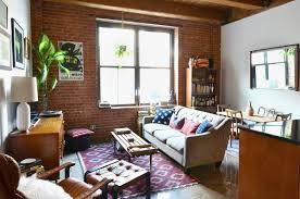 cozy furniture brooklyn. Wonderful Furniture A Studio Apartment In Brooklyn Intended Cozy Furniture