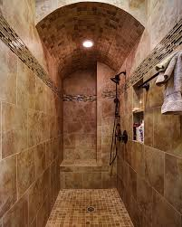 The Ease and Beauty of Open Concept Showers Home Garden Design