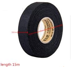 wire harness tape promotion shop for promotional wire harness tape 16mmx15m universal flannel fabric cloth tape automotive wiring harness black flannel car anti rattle self adhesive felt tape