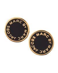 marc by marc jacobs enamel logo disc