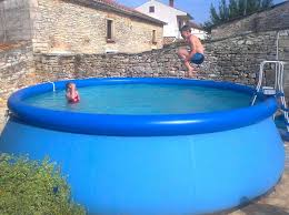Unique Above Ground Inflatable Pool Small Swimming Pools D Inside Design Ideas