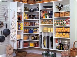 Kitchen Organize Kitchen Cabinets Kitchen Pantry With Three Adjustable Shelves Are