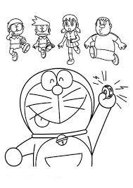 Nobita's grandson is the unnamed son of nobisuke and the grandson of nobita and shizuka. Doraemon Calling Nobita Suneo Shizuka And Giant Coloring Pages Netart
