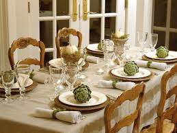 Italian Themed Kitchen Table Setting Ideas For Italian Dinner Party Crowdsmachinecom