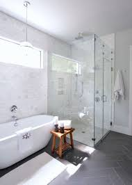 carrara marble tile bathroom elegant white carrera marble subway tile with dark gray floor and glossy carrara marble tile bathroom