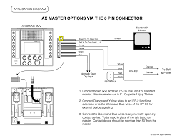 aiphone ax option connector wiring diagram user manual aiphone jf-2med manual at Aiphone Wiring Diagram