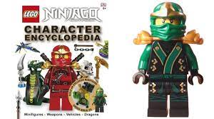 LEGO Ninjago Character Encyclopedia LEGO Book with Green Ninja Minifigure  Review - BrickQueen - YouTube