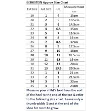 Shoe Size Chart Australian To Us Size Chart Hipkin