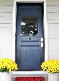 blue front doorPopular Front Door Paint Colors
