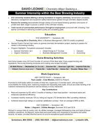 Sample Resume College Student Seeking Internship Refrence Sample For