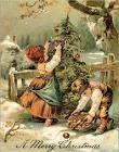 Старые новогодние открытки рисунки