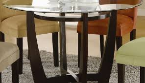 oak furniture wooden round excellent wood glass dark kirk and seater modern table dining chairs room