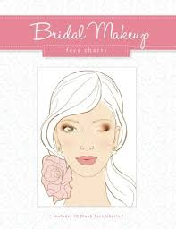 Bridal Face Chart Bridal Makeup Face Charts The Beauty Studio Collection