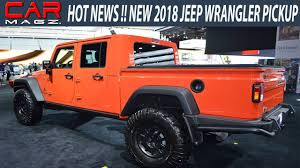 2019 Jeep Wrangler Pickup Truck Spied Specs - Youtube throughout ...